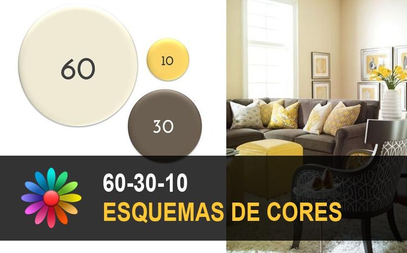 Esquemas de Cores 60-30-10