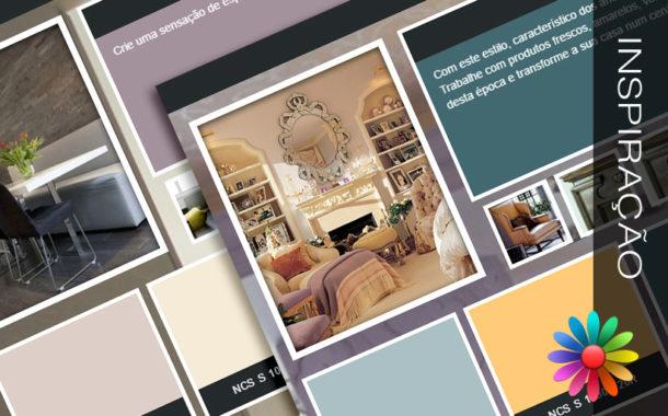 Pinte a sua casa com cores intemporais