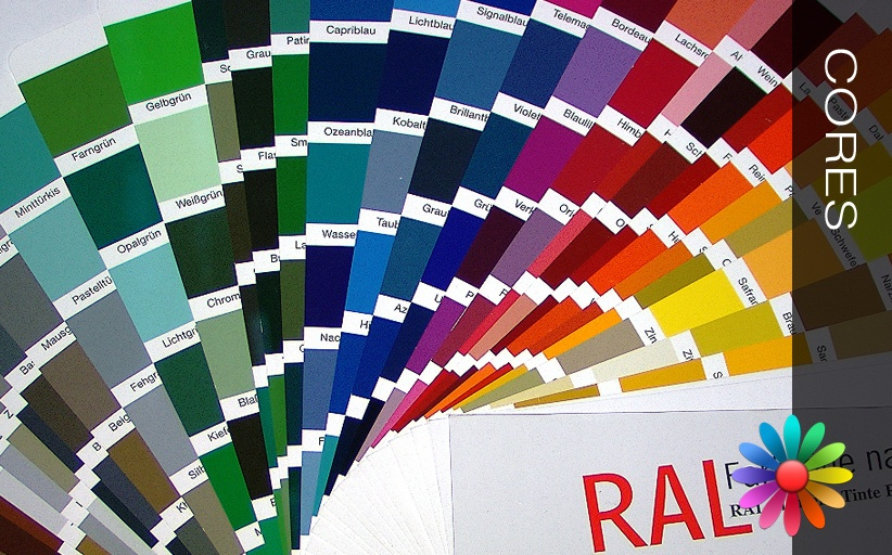 Cores RAL Classic – Veja todas as cores deste catálogo universal