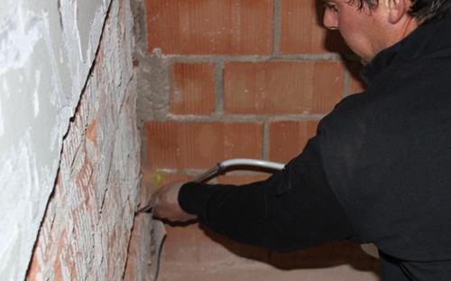humidade paredes Injecte um hidrofugo