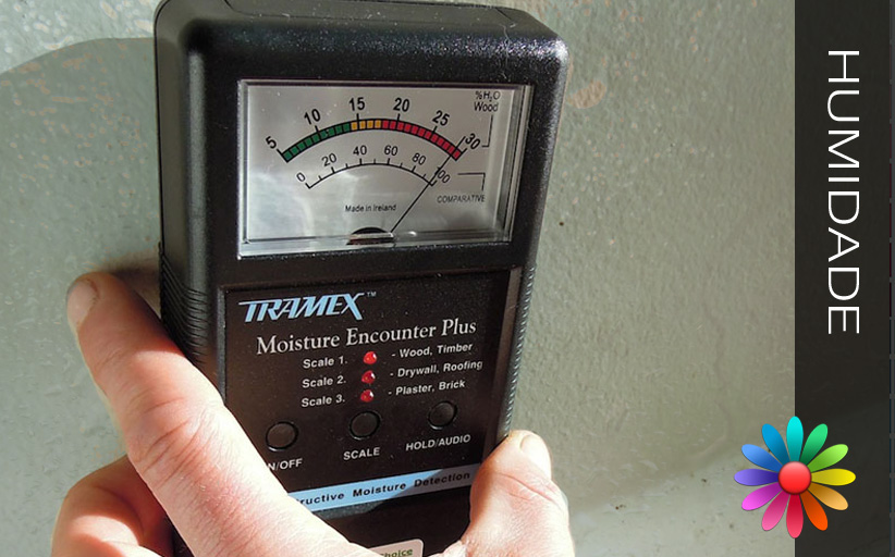 humidade causada pela chuva