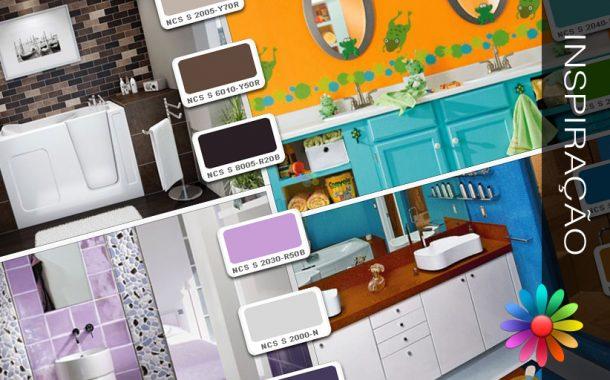 Cores – Ideias para a Sua Casa – Casa de Banho