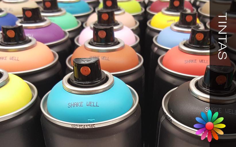 Sprays Montana nas lojas das Tintas 2000
