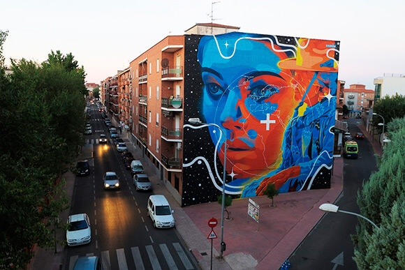 Mural com Sprays Montana