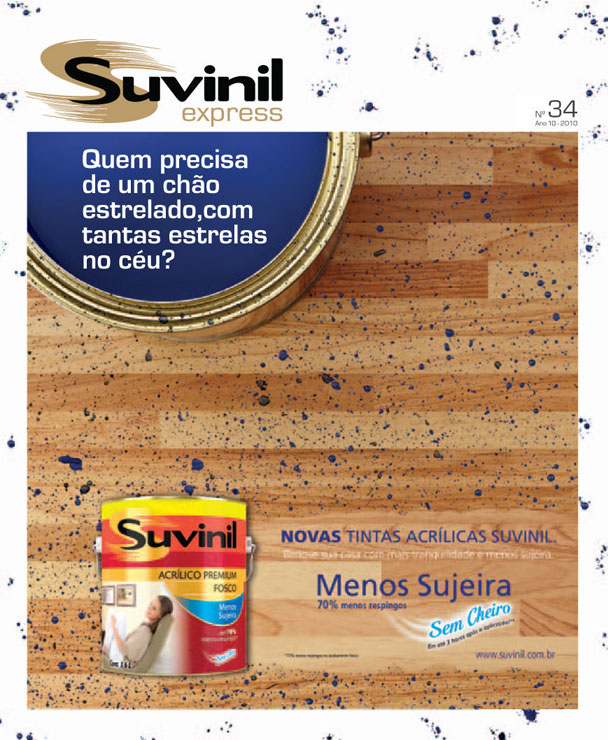 revista Suvinil Express