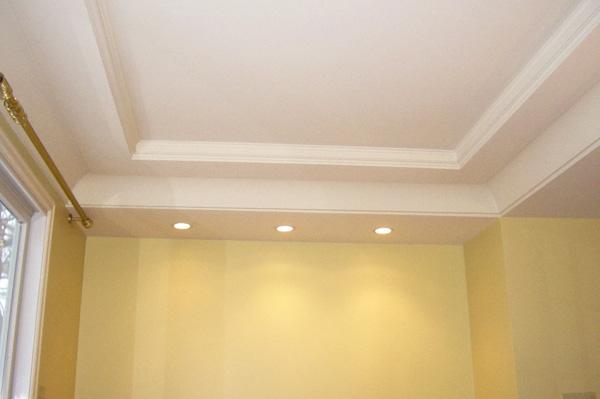 Pintar teto e paredes