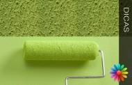 transformar paredes rugosas em lisas