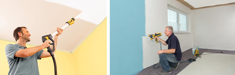 Pintura com equipamento airless
